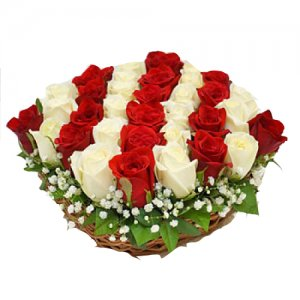 Midnight Delivery of Fresh Flowers bunches baskets Ajmer