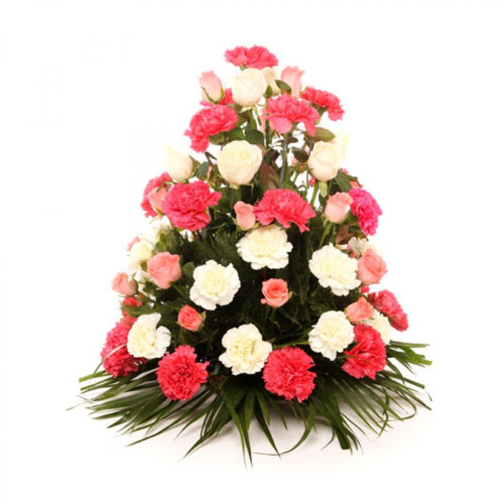Beautiful bouquet of mixed flowers izmirmasajfo
