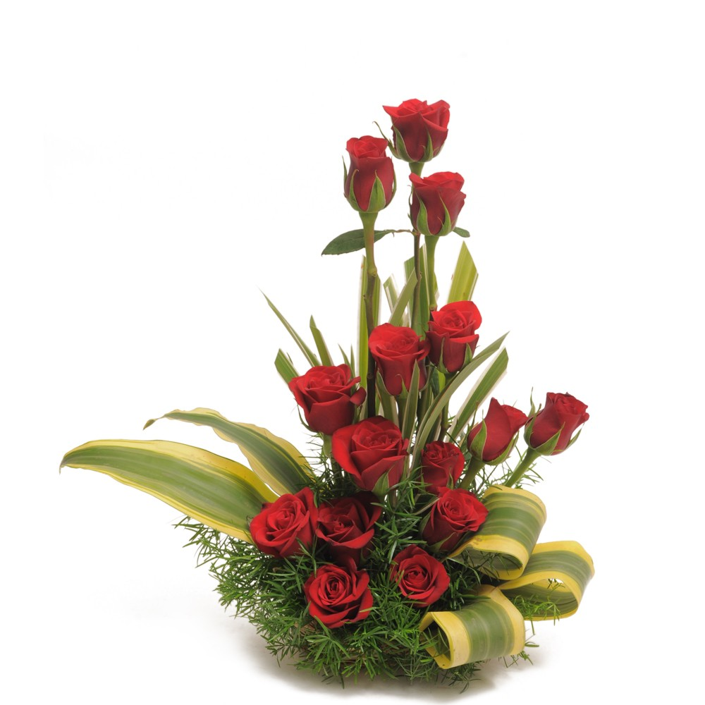 Send This Red Rose Tower To Your Dad Giftzbag