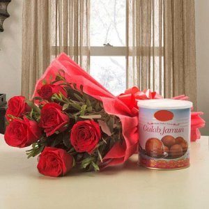 Giftzbag: Online Sweets with flowers Delivery in Ajmer