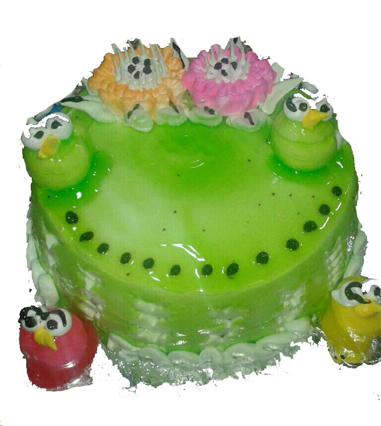 Enjoyable Celebrate Birthday With Online Green Forest Cake Ajmer Giftzbag Birthday Cards Printable Benkemecafe Filternl
