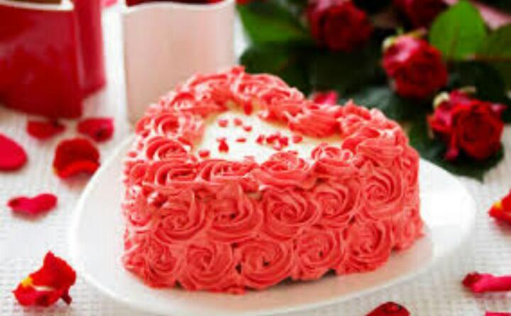 1 Kg Heart Cake