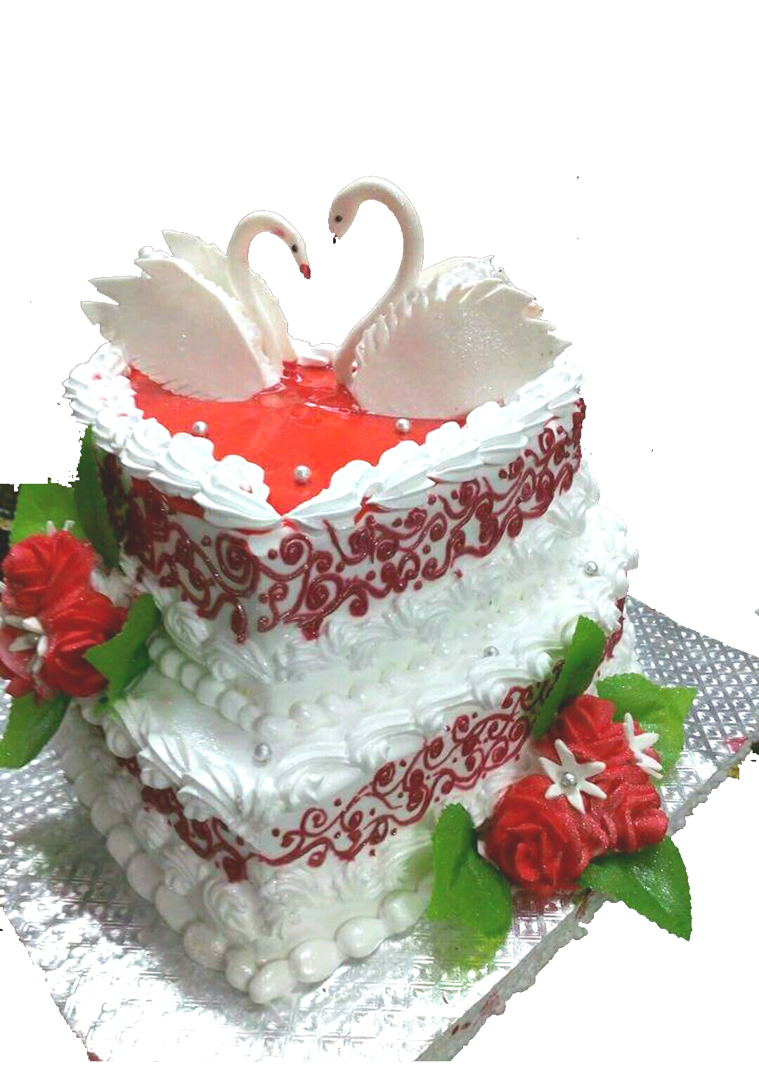 Send Or Buy 1st Anniversary Cake For Couple Giftzbag