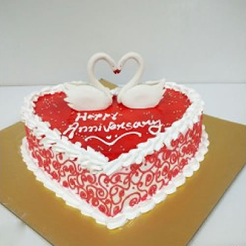 Order Or Send Romantic Anniversary Cake For Your Better Half