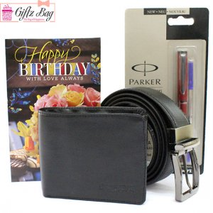 Giftbag: men's belt