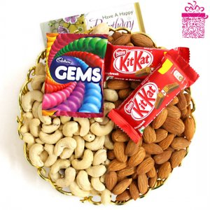 giftbag: sweets chocolate and dry fruits Delivery in Ajmer