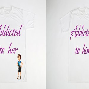 Personalized couple T-shirt in ajmer