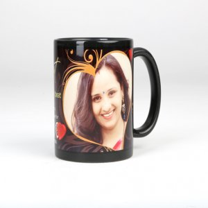 Personalized black coffee mug In ajmer in ajmer
