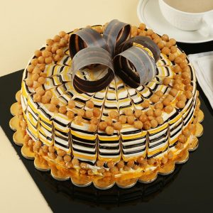 classy Butterscotch Cake