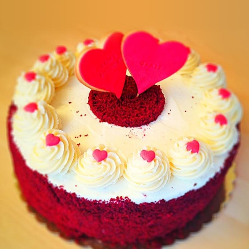 Red Velvet Cake Design Ideas