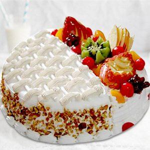 Vanilla-Fruit Classy Cake