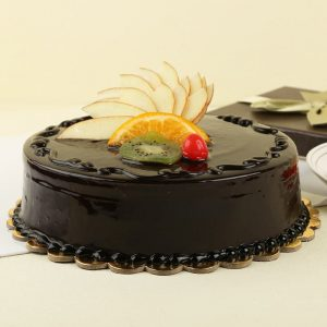 Special Chocolate N Fruit Cake : Giftzbag