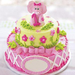 2 Tier Designer Cake