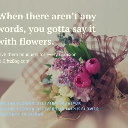 Online Bouquet Delivery in jaipur:Giftzbag.com