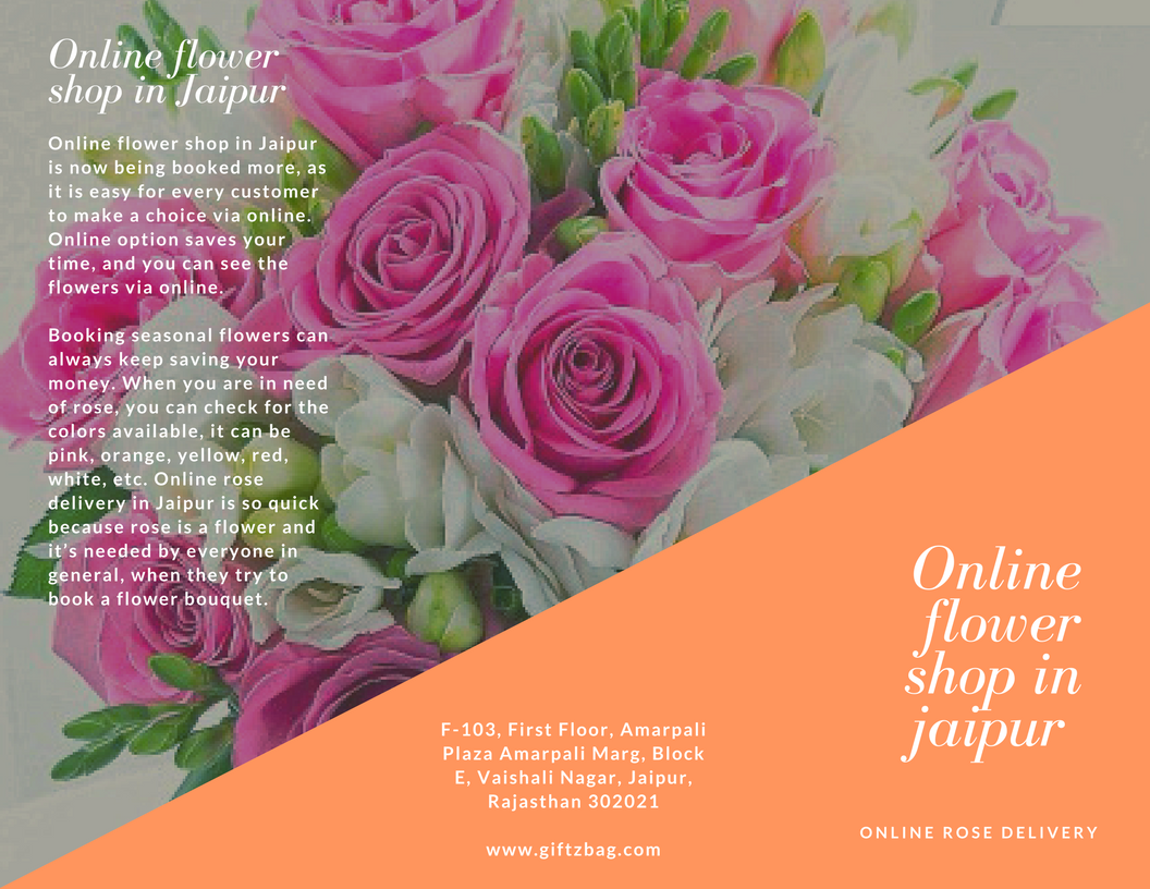 Online rose delivery in Jaipur