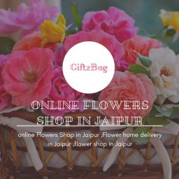 Online Flowers Delivery in jaipur:Giftzbag.com