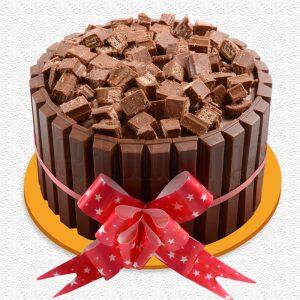 KitKat Lover Chocolate Cake : GiftzBag