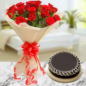online flowers with cake delivery in India