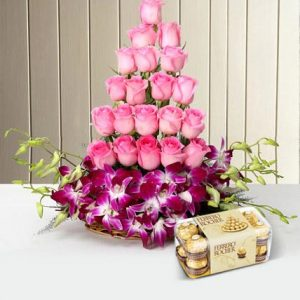 online orchid flowers delivery in India