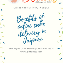 Benefits online cake delivery in Jaipur