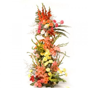 mix flower arrangement