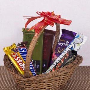 online chocolate basket