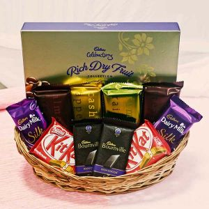 premium chocolate basket