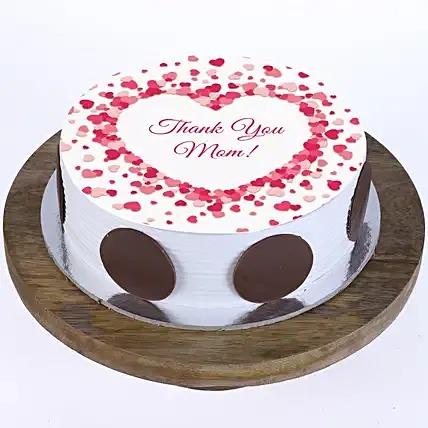 Mom Ever Chocolate Photo Cake 1 Kg