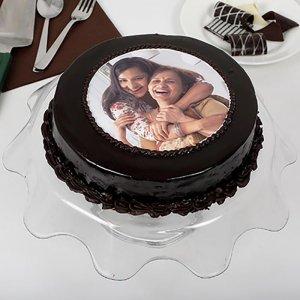 Mom Photo Cake