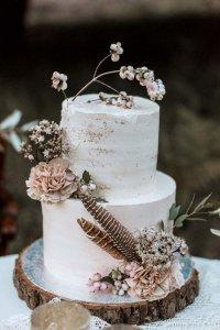 Boho Chic Style cake