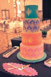 Moroccan Prints Cake