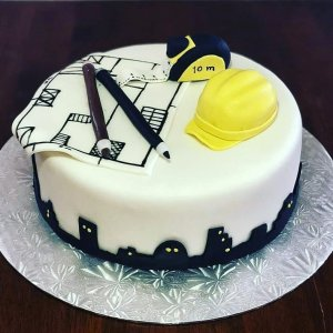 Engineer Theme Cake