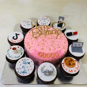 Dad's Daughter Birthday Cake