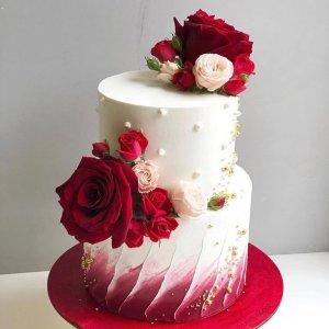 2 Tier Reception Cake