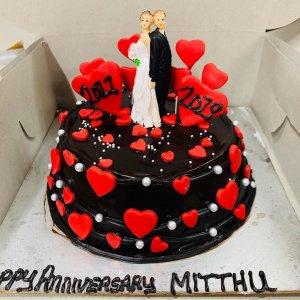 Valentine Cake for love