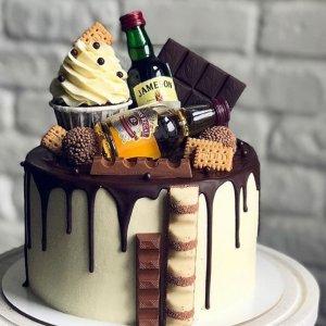 Liquor Theme Cake