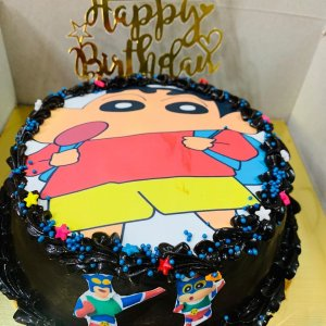 Shinchan Theme Kids Cake