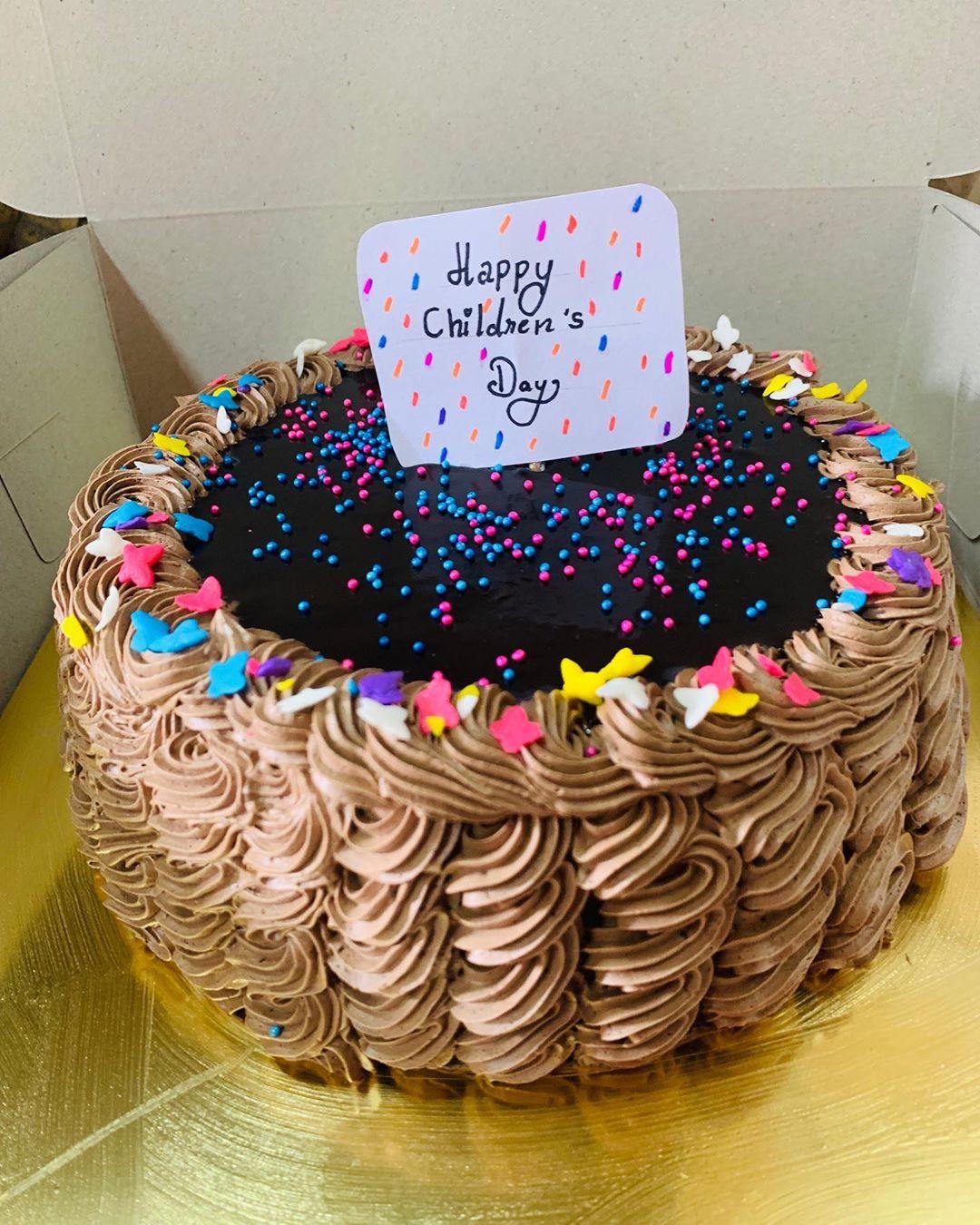Gems Chocolate Cake