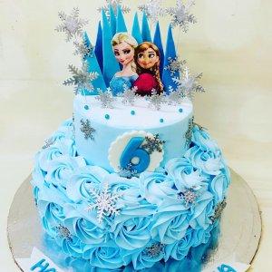 Barbie Doll Theme Cake