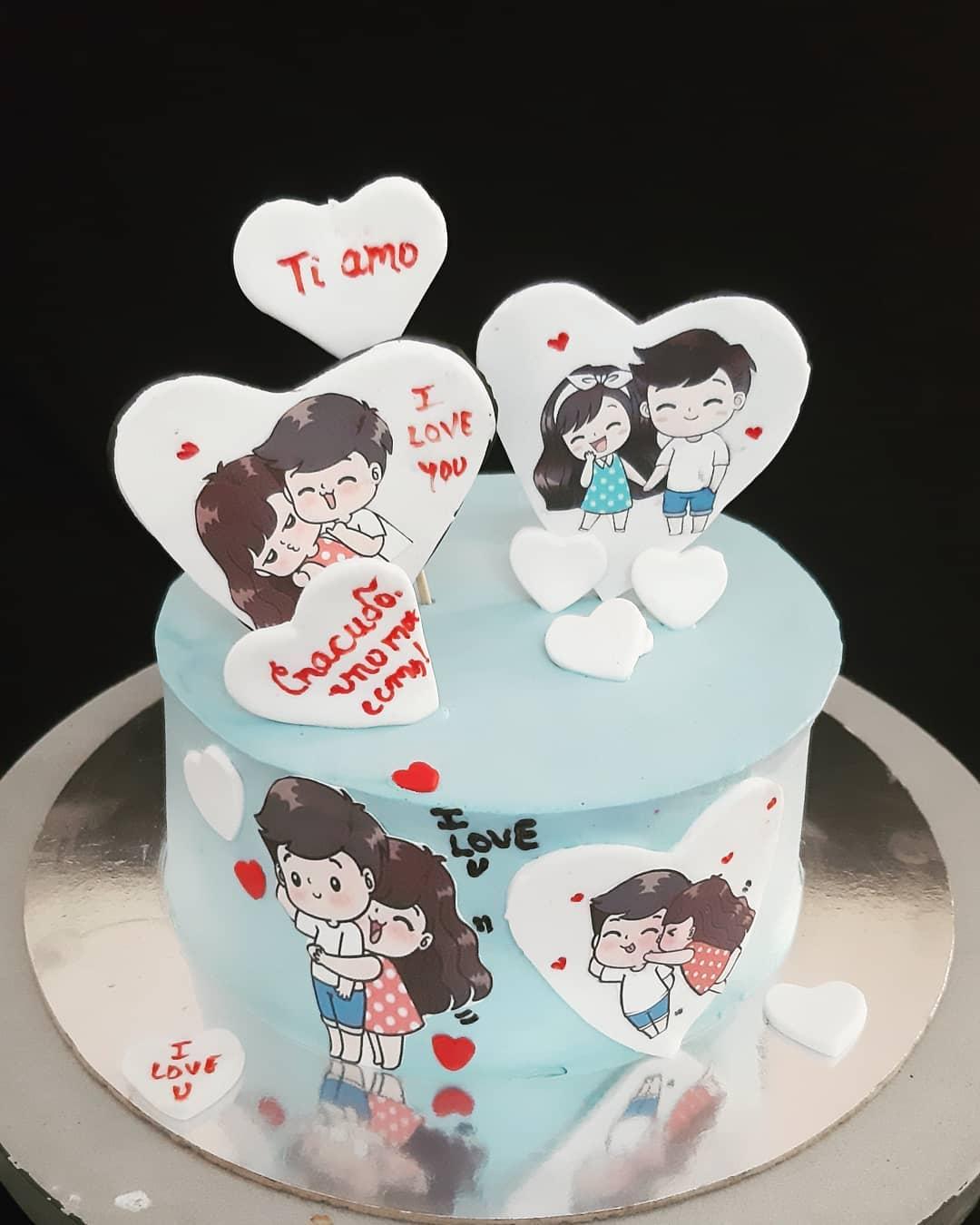 Sensational Love Message Cake Funny Birthday Cards Online Eattedamsfinfo