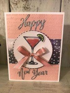 New Year Greeting Card Handmade
