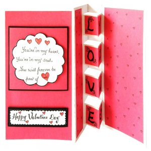 Greetings Card as Valentines Day Gifts for Her