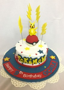 Pokemon Birthday Cake