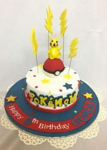 Superb Pokemon Birthday Cake Funny Birthday Cards Online Alyptdamsfinfo