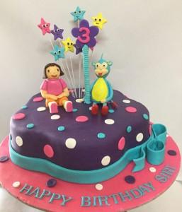 Siri's 3rd Birthday DORA Cake