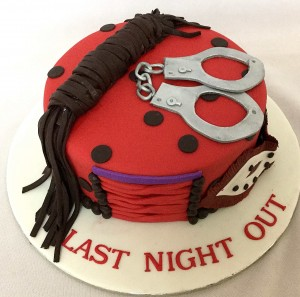 Bachelorette Party Cake-Last Night Out