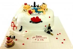 Valentine Love Special Cake