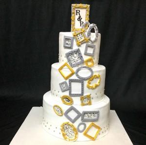 Anniversary Cake Frames of memories