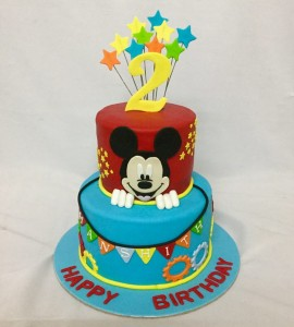 Mickey cake for Birthday