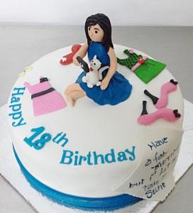 18th Birthday Custom Selfie Cake